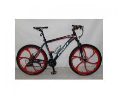 Детский спортивный черно-красный велосипед модели PROFI