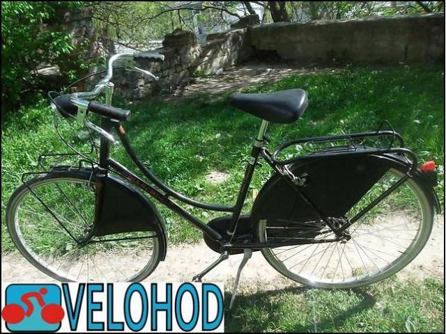 Модный женский велосипед